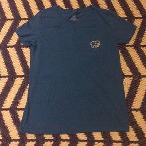 Blue pineapple Ivory Ella shirt